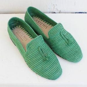 New Artemis Design Company Raffia Loafers 9